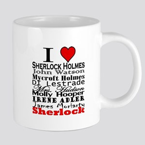 I Heart Sherlock Mugs